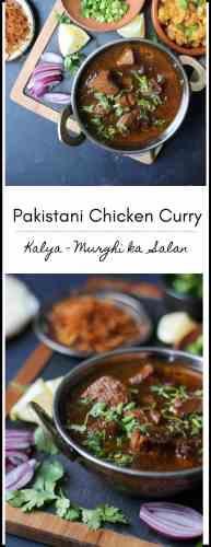 Kalya - Pakistani Chicken Curry - Murghi ka Salan