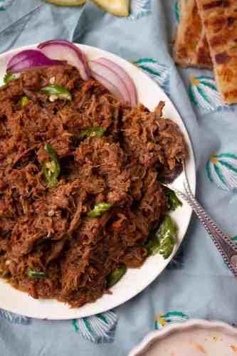 Bhunna Gosht or Resha Kabab