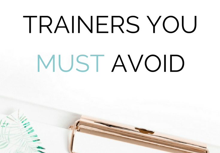 Five Types of Personal Trainers You Must Avoid