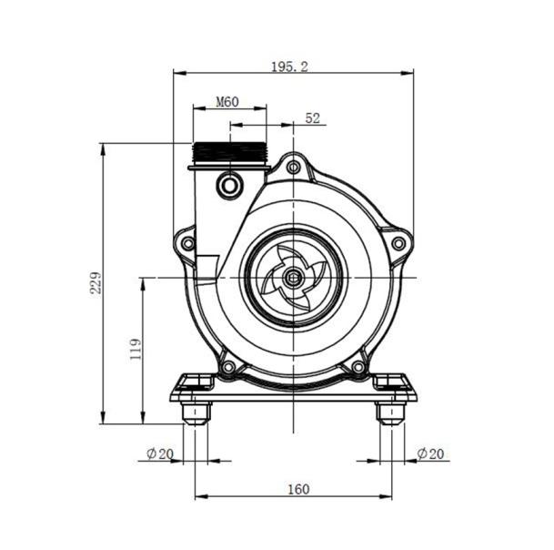 220v Pump Ledningsdiagram