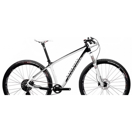 Bike Niner AIR 9 RDO Carbon Rigid White 29