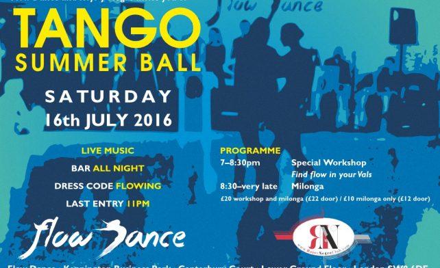Tango Summer Ball