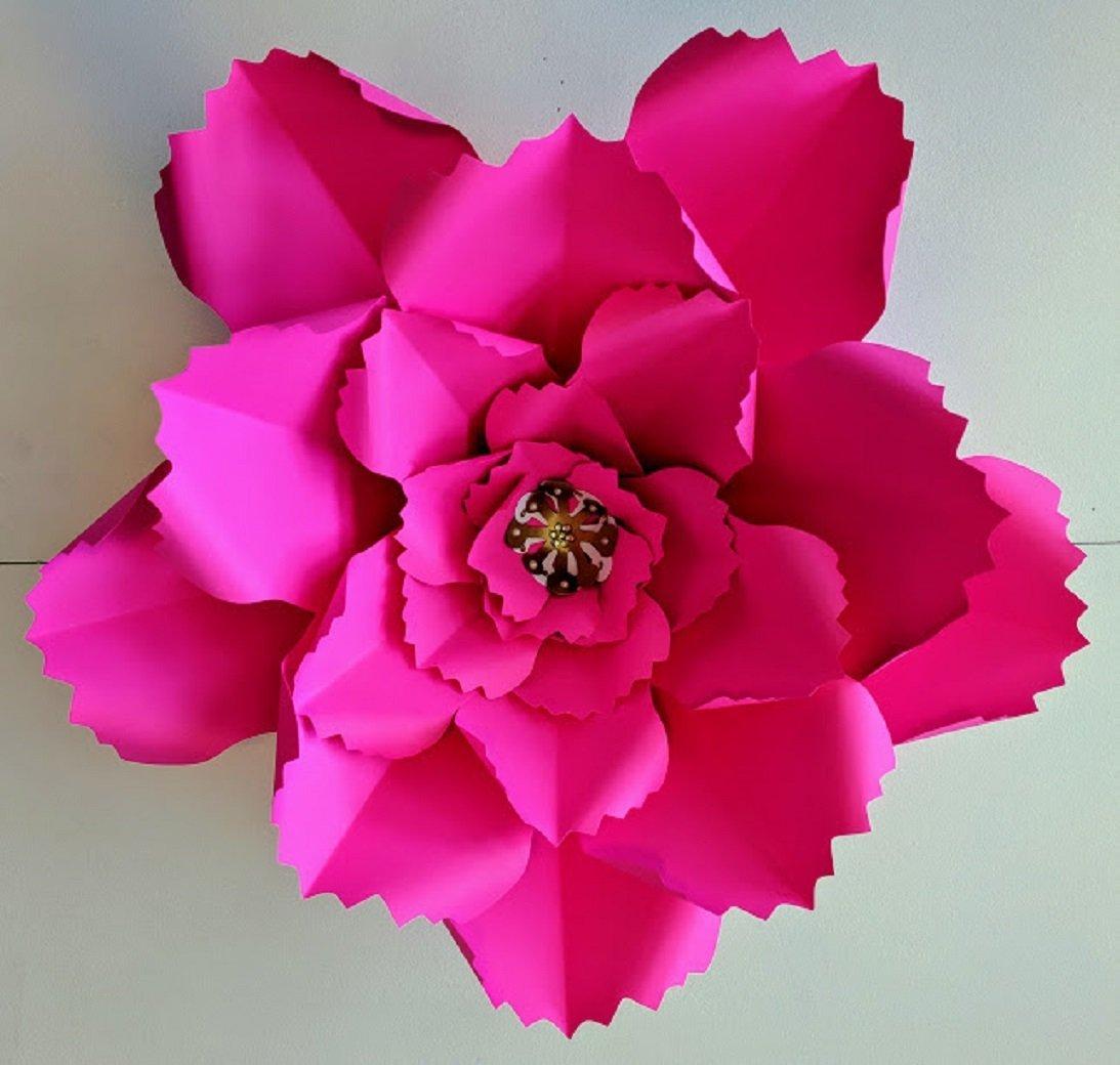 Giant Paper Flower 23 Diameter Jumbo Bloom Rose Multiple Colors