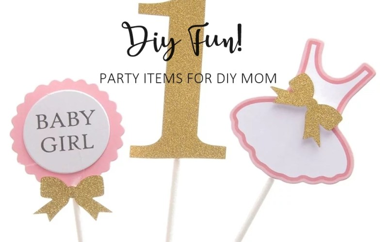 party items for diy mom malaysia