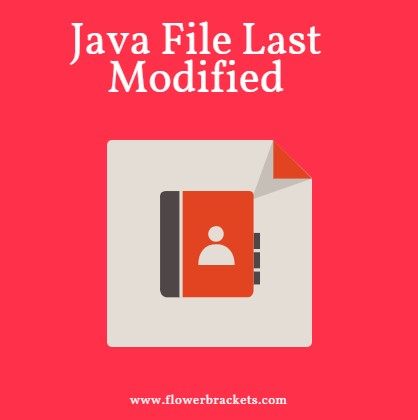 java file last modified