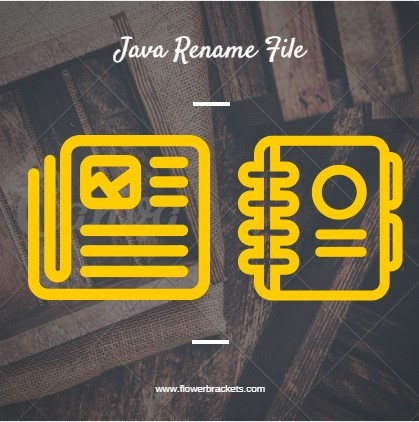 how to rename file in java