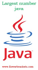 java program to find the largest in three numbers using nested if