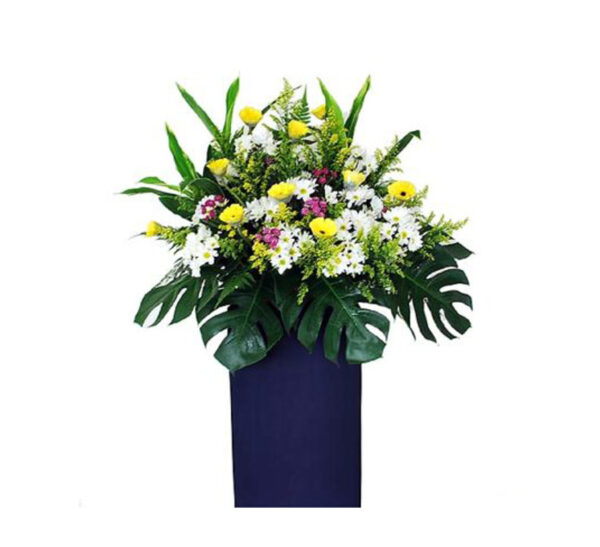 funeral-flowers-serenity, A calming bouquet
