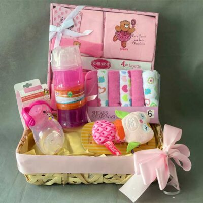 girl gihamper for newborn baby girlft present