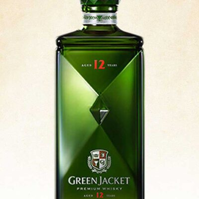 green premium whisky