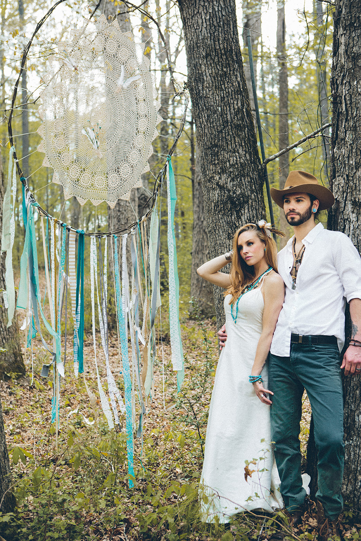 Southwestern Woodland Romance  Flower Child Weddings
