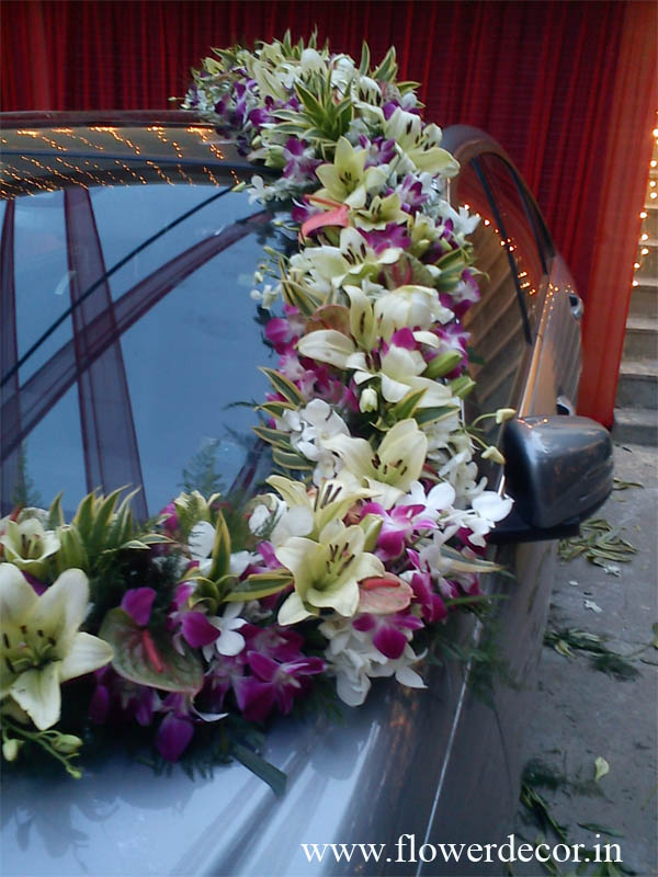 Car Flower Decoration Photo Gallery  Flower Decor