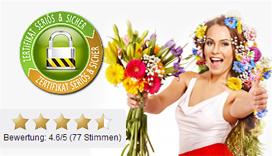 Blumenversand  Blumen verschicken mit 7TageFrische Garantie