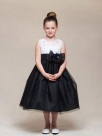 Black - Flower Girl Dresses - Flower Girl Dress For Less