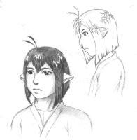 Concept sketches for Rava.