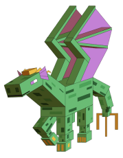 Minecraft-style Arra.