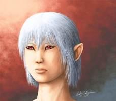 Painting of Kira.
