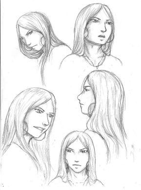 Old concept sketched of Seravinsari.