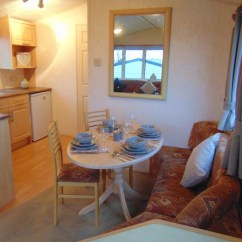 Kitchen Table With Storage Underneath Ceiling Lights Pre-owned 2005 Willerby Westmorland - Flower Of May