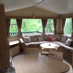 Sofa Bed Corner Sale Fake Leather Repair Pre-owned 2008 Willerby Richmond - Flower Of May