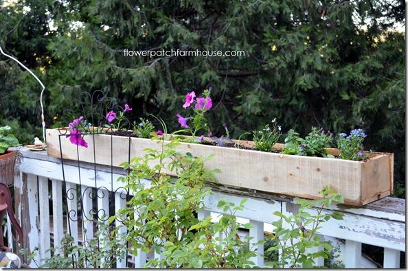 DIY fence board planters6