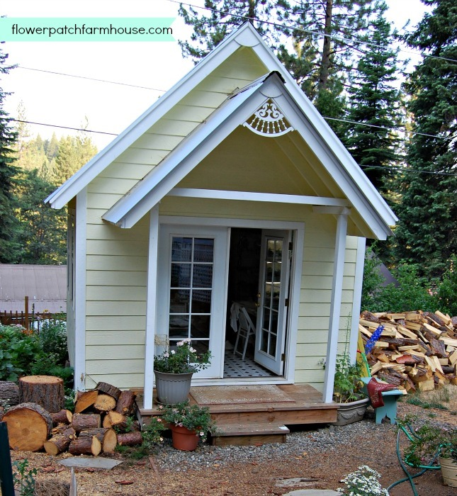 Build your own crafting cottage garden or she shed for Build your own farmhouse