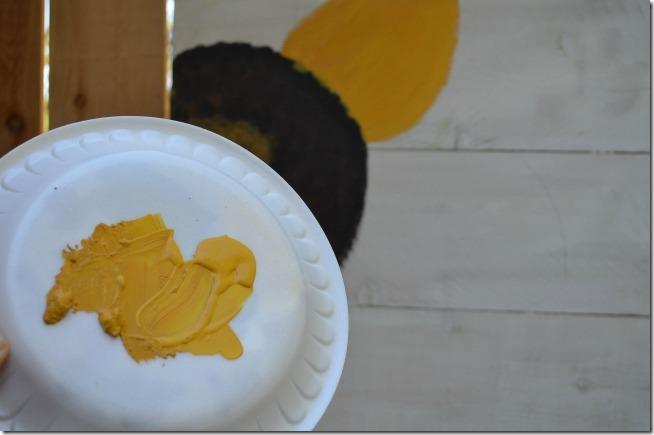 paint a sunflower tutorial 9