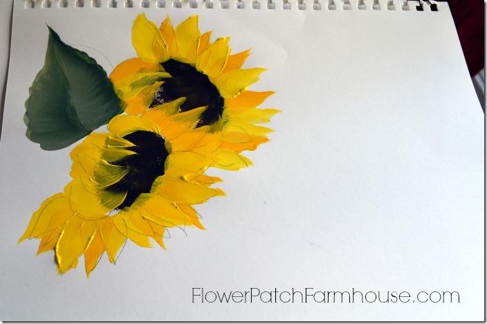 sunflowers test