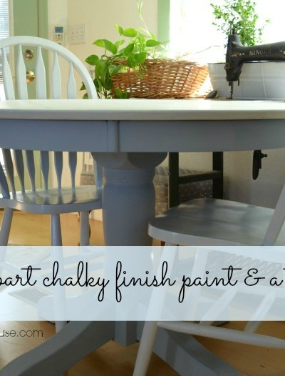 DecoArt Chalky Finish Paint Table