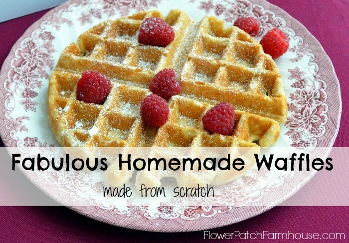 Delicious Home Made Waffles