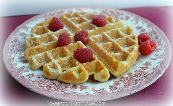 The Best Homemade Waffles from Scratch!