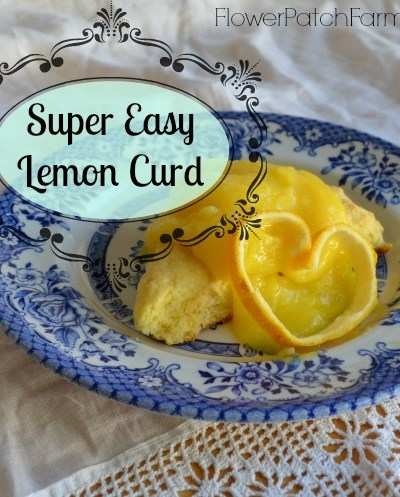 Easy 10 minute lemon curd