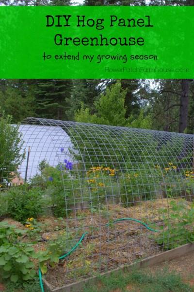 DIY Easy greenhouse