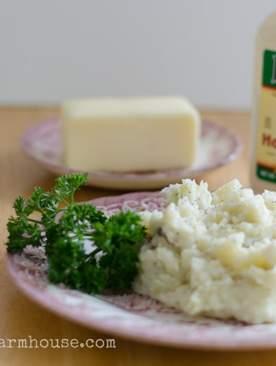 Horseradish Mashed Potatoes, FlowerPatchFarmhouse.com
