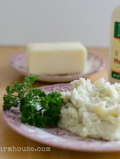 Horseradish Mashed Potatoes, FlowerPatchFarmhouse.com