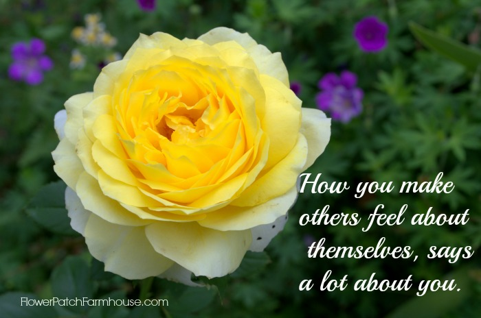 How you make others feel inspirational quote