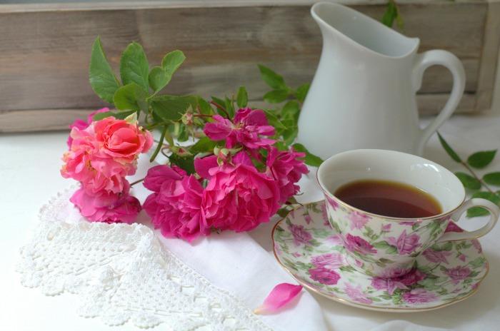 Tea and Roses, FlowerPatchFarmhouse.com
