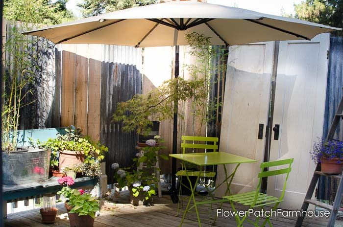 Relaxing Back Porch Garden room
