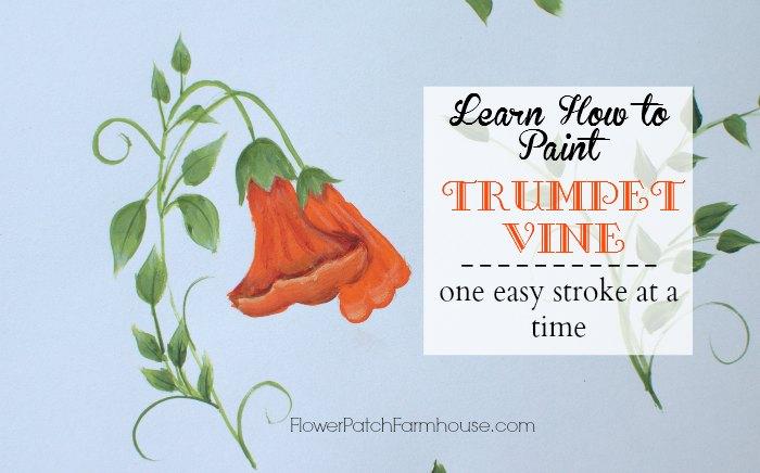 trumpet vine opening image