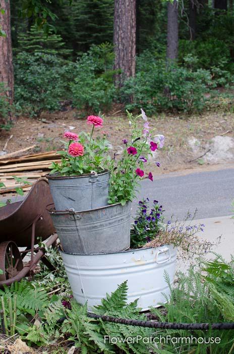 Tub planters