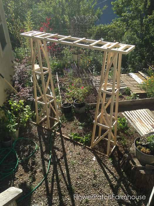 Obelisk Garden Arbor, FlowerPatchFarmhouse.com (33 of 33)