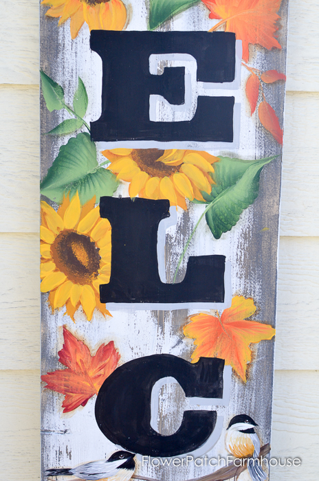 Large Fall Welcome sign, FlowerPatchFarmhouse.com (5 of 7)