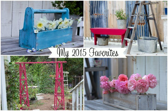 My 2015 favorite posts, what fun we had! FlowerPatchFarmhouse.com