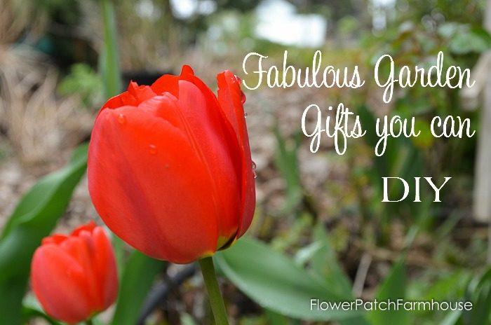 Fabulous Garden Gifts you can DIY, FlowerPatchFarmhouse.com
