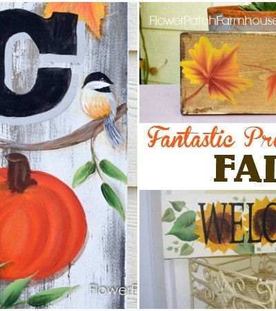 Great Painting Projects for Autumn aka Fall