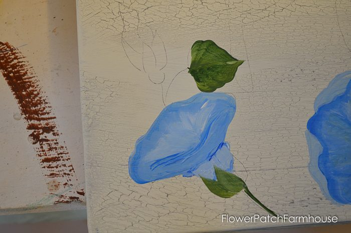 How to Paint Morning Glories. Add a gorgeous touch of blue to your decor, craft project or painting. Step by step, one stroke at a time, learn to paint these beautiful blooms! Easy for beginners, fun for everyone.