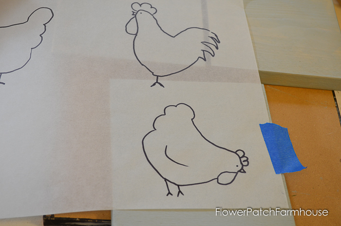 How to Paint Fun Chickens, an easy to paint tutorial in acrylics. Great for DIY decor, crafts, kids art projects.