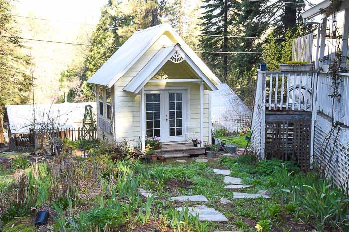 side garden, Garden Journal April 22 Flower Patch Farmhouse