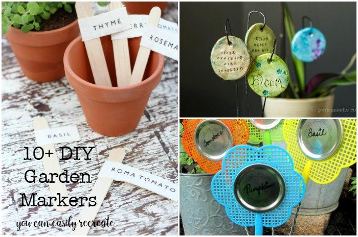 10 DIY Garden Markers you can recreate