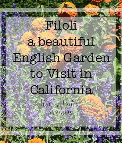 Filoli A Garden to Visit in California